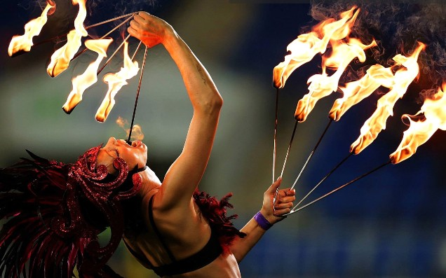 Onstage Event Entertainment - Fire Twirler
